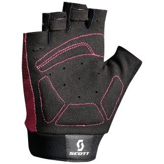 Scott Essential Handschuhe kurzfinger Damen tibetan red/azalea pink