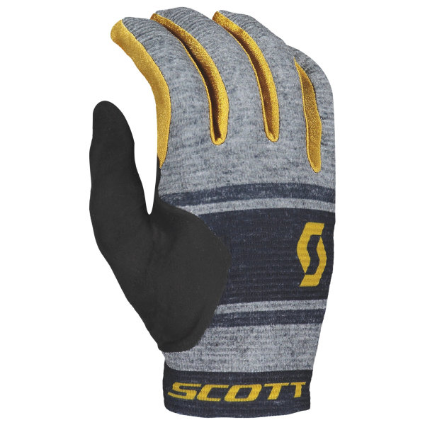 Scott Ridance Handschuh langfinger dark grey/ochre yellow