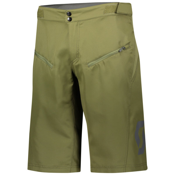Scott Trail Vertic Shorts mit Polster green moss
