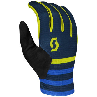Scott Ridance Handschuh langfinger nightfall blue/lemongrass yellow