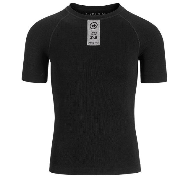 Assos Skinfoil Spring/Fall SS Base Layer blackSeries