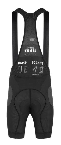 Assos Trail Liner Bib Shorts blackSeries