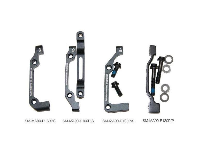 Shimano SM-MA 90 Adapter für Bremsscheibenmontage
