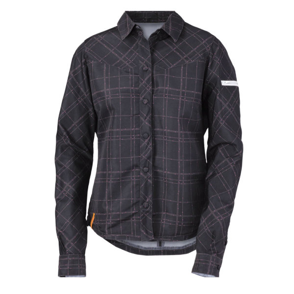 Scott W´s Full Volume Button Shirt black